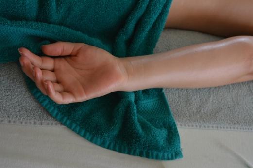 Arm en hand massage